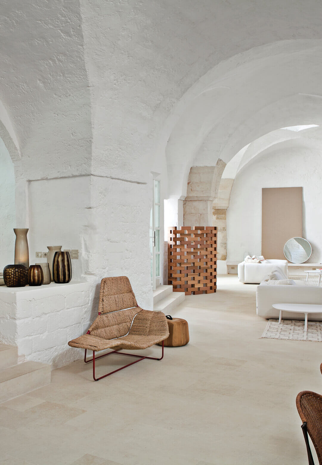 Architects Ludovica Serafini and Roberto Palomba chose a 17th century, former oil mill to turn into their light-filled, relaxing holiday home in the Italian countryside | Sogliano Cavour | Ludovica Serafini and Roberto Palomba | STIRworld