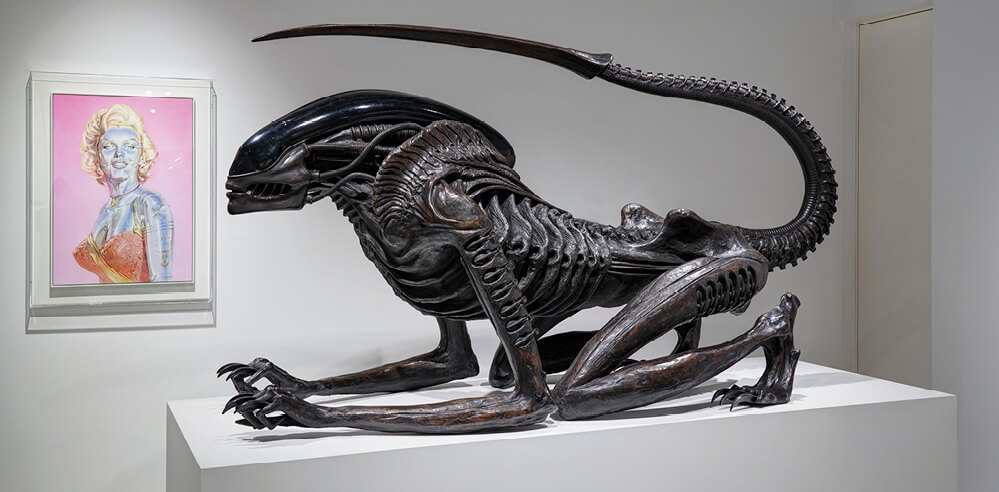 Parco Museum Tokyo brings together HR Giger and Hajime Sorayama