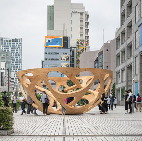 Pavilion Tokyo 2021: New urban landscapes and the architectural folly