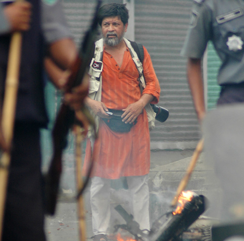 Photographer-activist Shahidul Alam appeals to a shared identity and experience