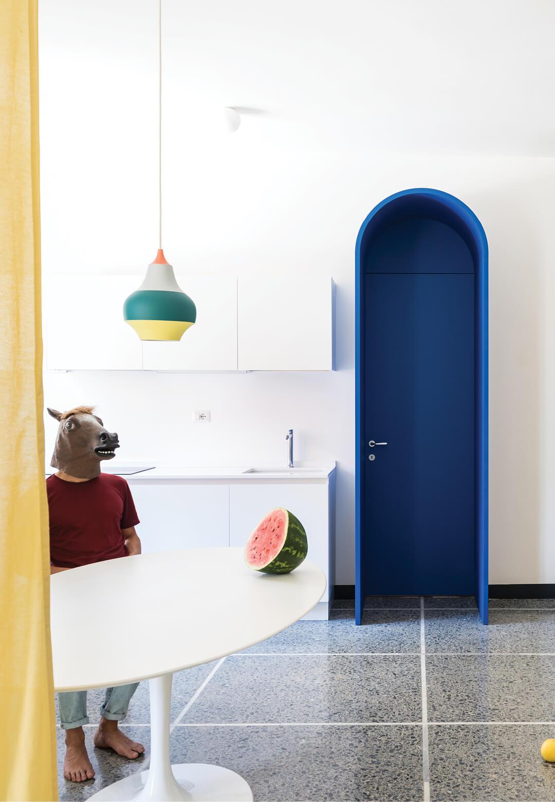Inside Retroscena, a 1950s Italian home renovated by La Macchina Studio | Retroscena designed by La Macchina Studio | STIRworld