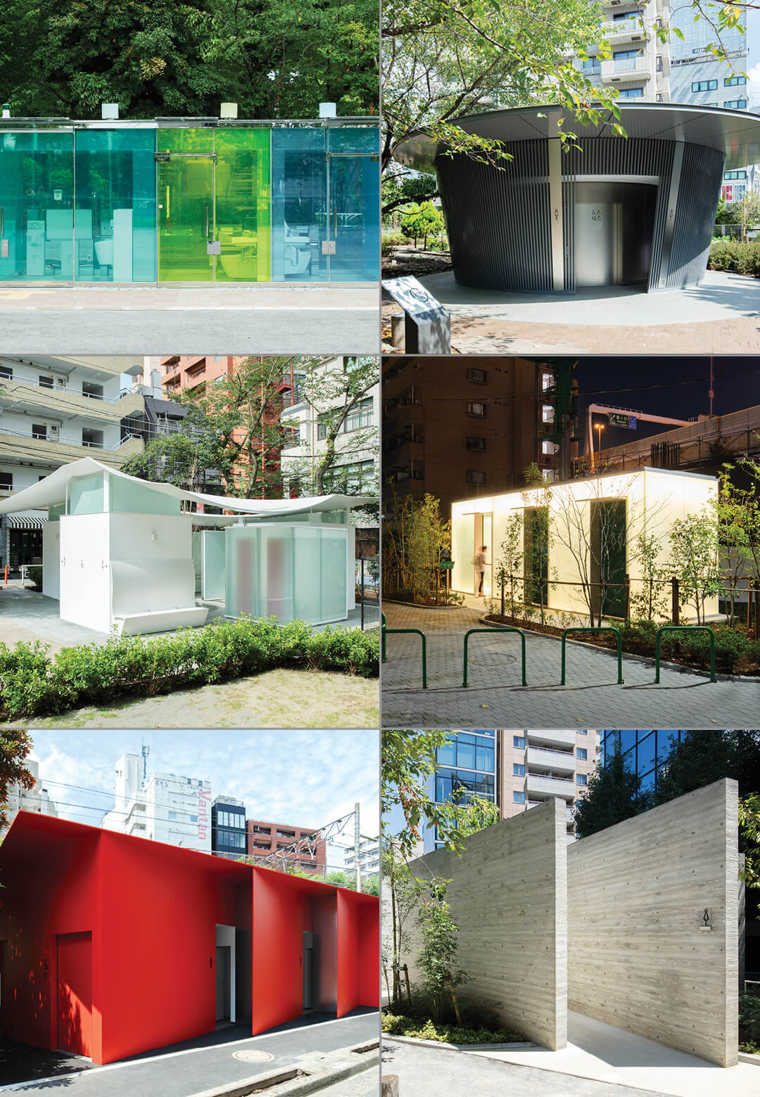 The Tokyo Toilets initiative by the Nippon Foundation, designed by Pritzker Prize laureates among its 16 creators | Tokyo Toilets | Nippon Foundation | STIRworld