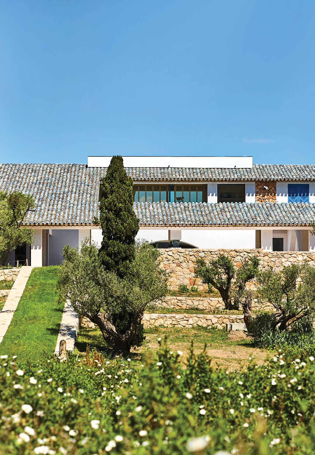 The villa houses the expansive collection of contemporary art of the Fondation Carmignac, founded by French entrepreneur Édouard Carmignac | Fondation Carmignac | Atelier Barani, GMAA agency and Louis Benech | STIRworld