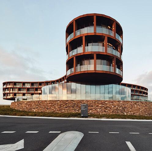 RACV Cape Schanck Resort by Wood Marsh emulates its adjacent rugged coastline