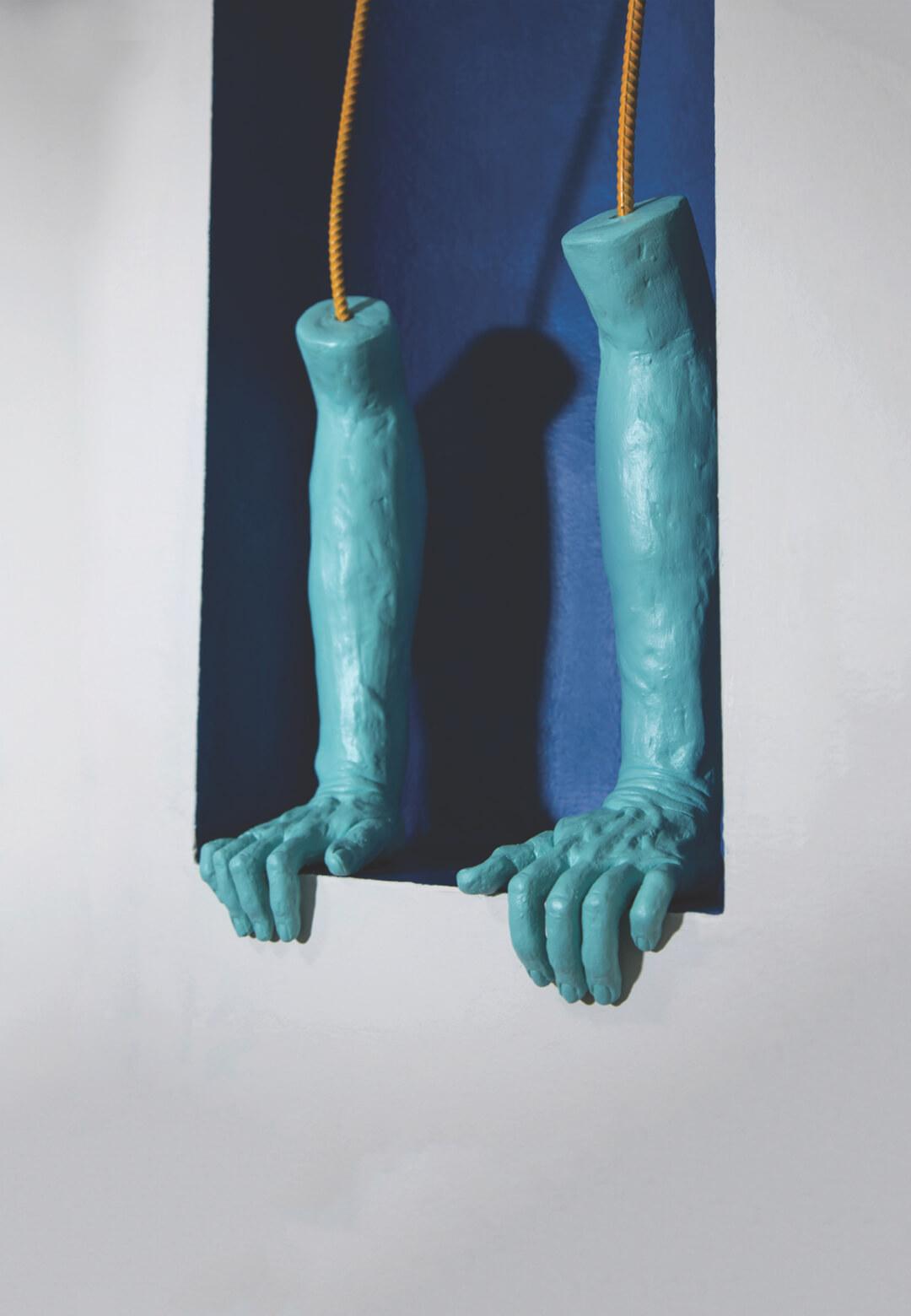 Loosen Your Grip, a work by artist Rebecca Frantz   Rebecca Frantz   USA   STIRworld