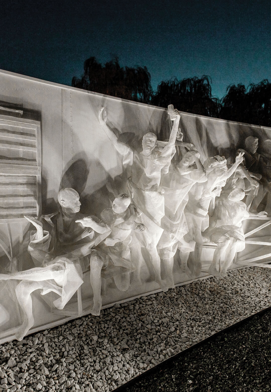 A bas-relief sculpture by Recycle Group in Krasnodar | Artificial Environment by Recycle Group | STIRworld