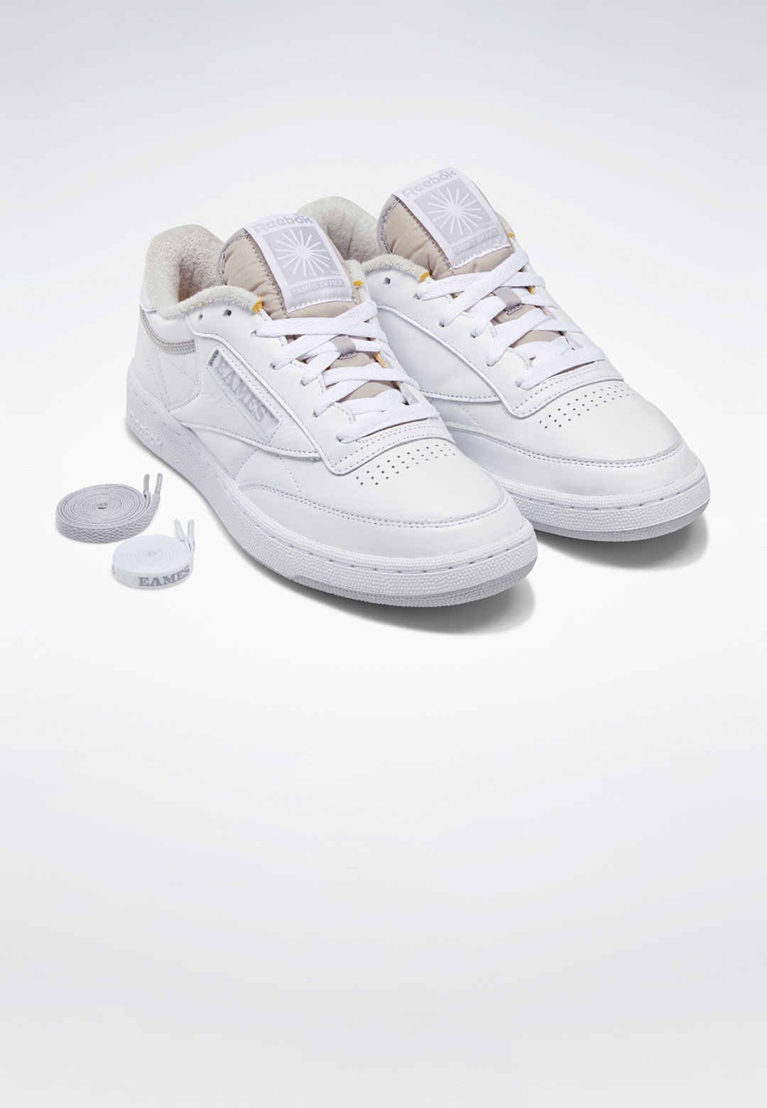 Reebok x Eames Club C Monotone Pack sneaker collection   Reebok x Eames Club C Monotone Pack   STIRworld