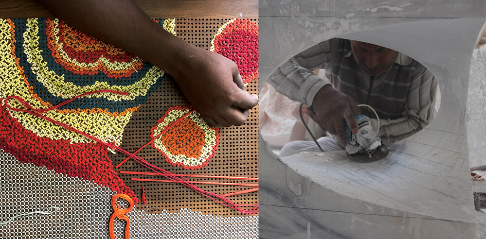 Rooshad Shroff reviving traditional Indian craftsmanship through product design