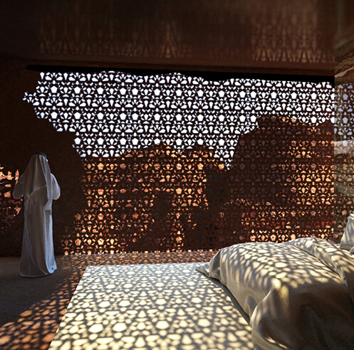 Designs revealed for Jean Nouvel-led Sharaan Resort in AlUla, Saudi Arabia