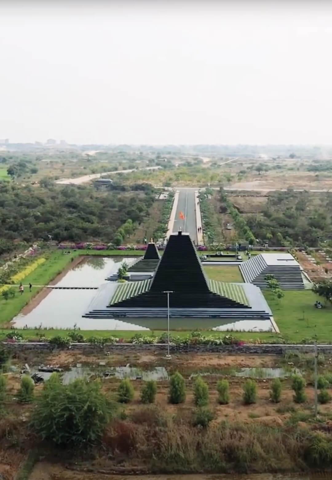 Temple of Steps designed by Sameep Padora and Associates in Nandyal, Andhra Pradesh, India | Balaji Temple or Temple of Steps by Sameep Padora and Associates | STIRworld