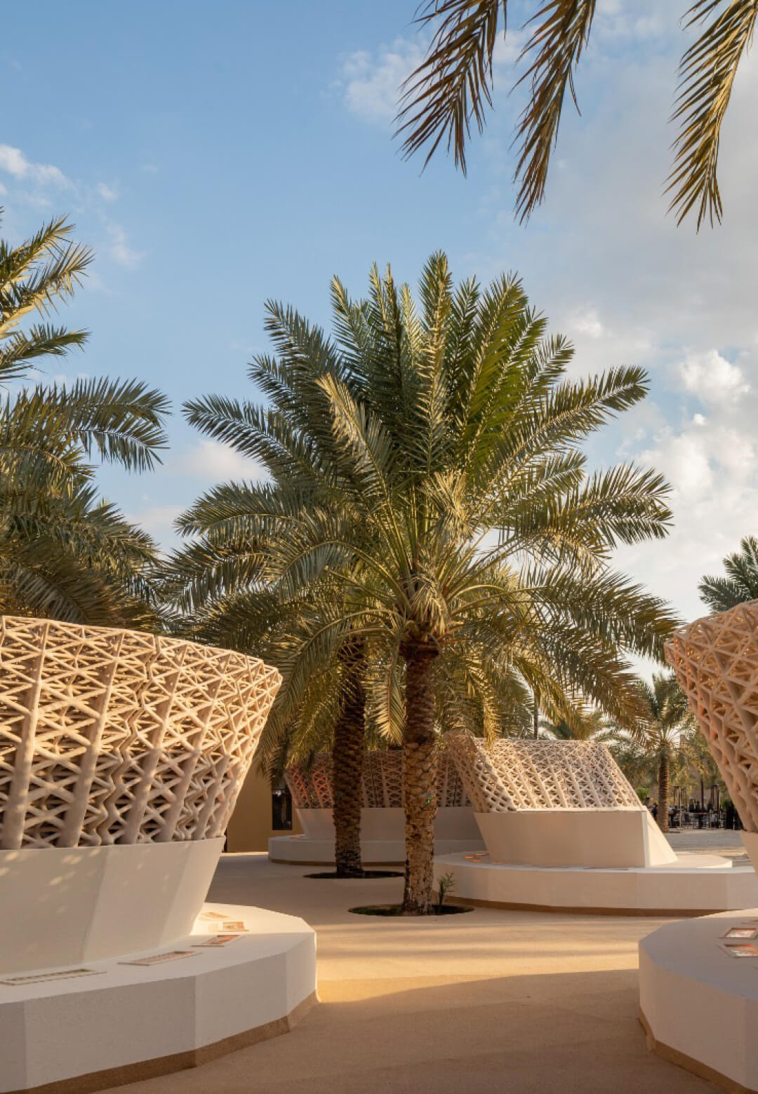 <em>The Sandwaves</em> exhibited at the Diriyah Season in Saudi Arabia | The Sandwaves | Mamou-Mani and Studio Precht | STIRworld