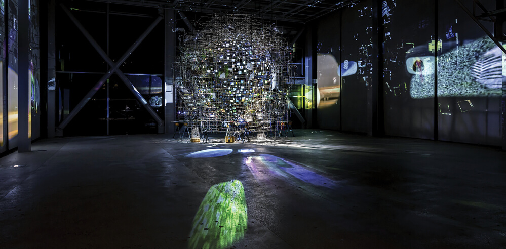 Sarah Sze's immersive exhibition 'Night into Day' questions time and space