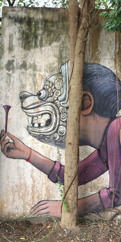 Seth Globepainter keeps the innocence of a child at the centre of his mural art