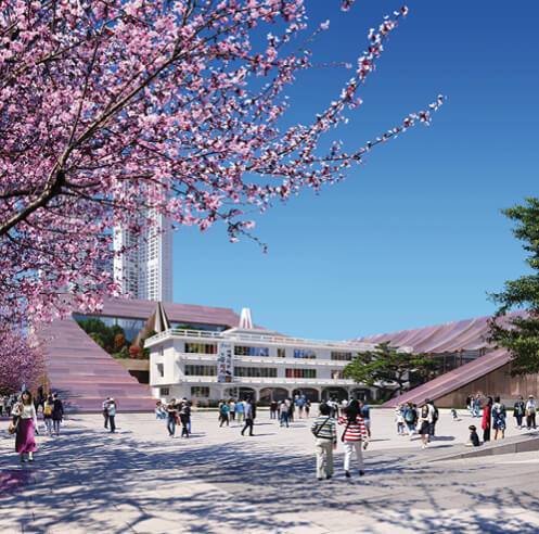 Snøhetta designs civic landmark Cheongju New City Hall in South Korea