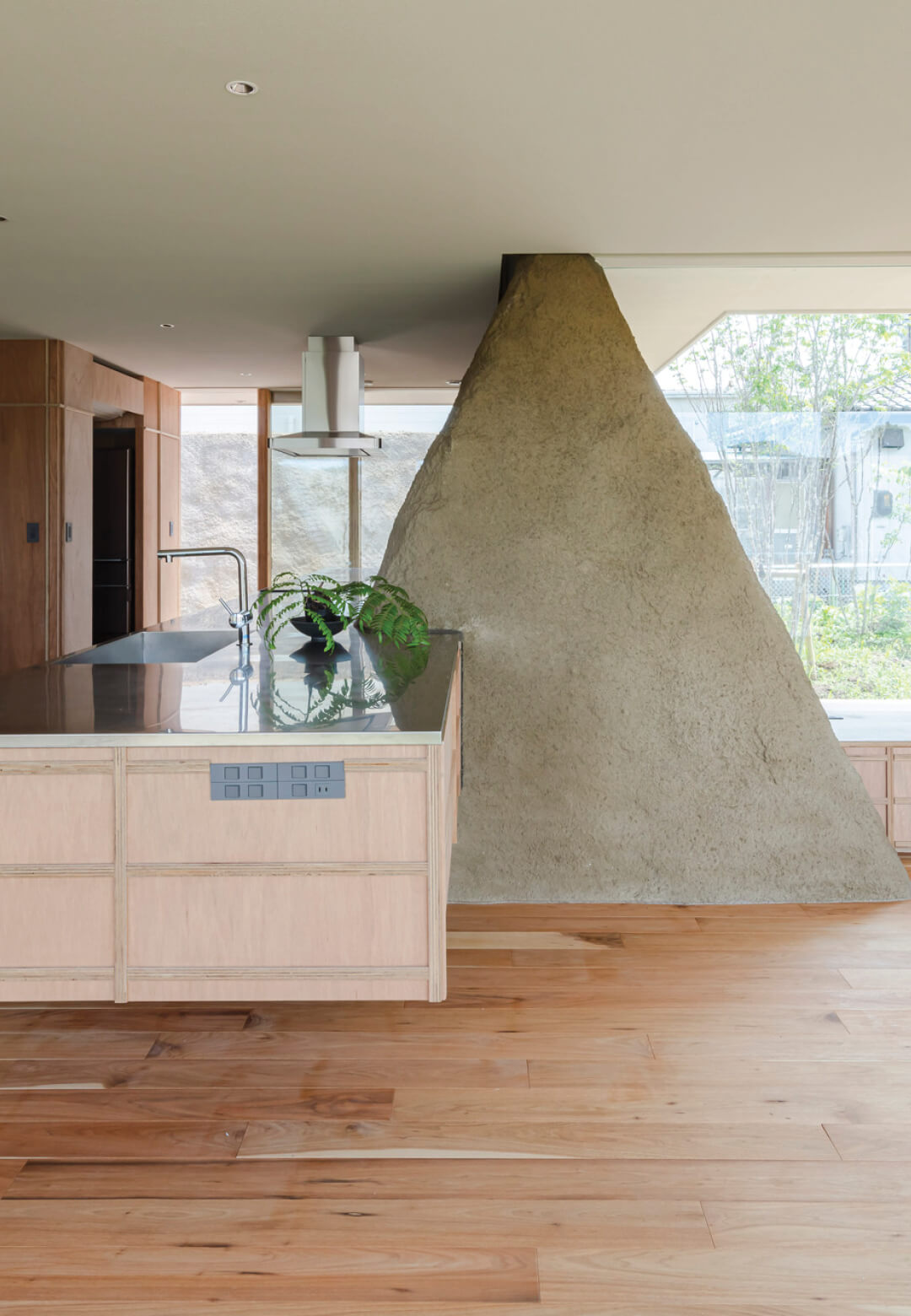 Soil house by ADX in Minamisōma City, Fukushima Prefecture is an embodiment of the client's desire to be close to nature in his new residence | Soil House | ADX Japan | STIRworld