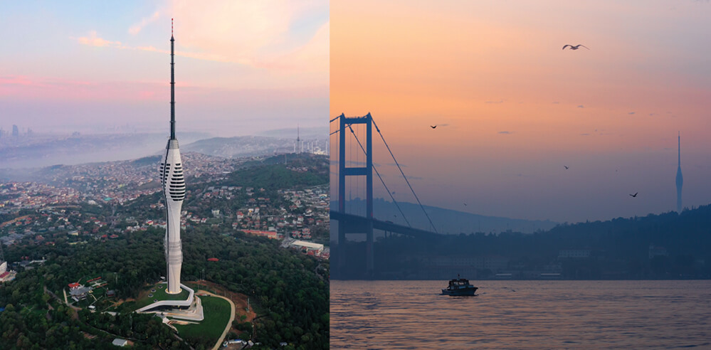 Soundwaves frozen in time: Istanbul TV and Radio Tower nears completion