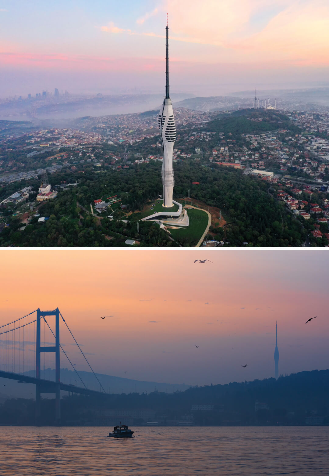 Istanbul TV and Radio Tower designed by Melike Altinisik Architects | STIRworld