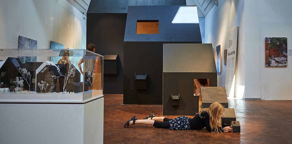'Space Crazy' creates an architectural playground at the Utzon Center, Denmark