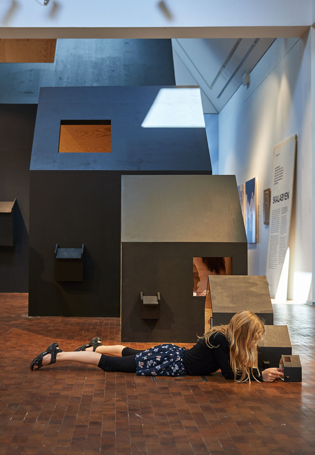 A scale town by COBE | Space Crazy | Utzon Center | STIRworld