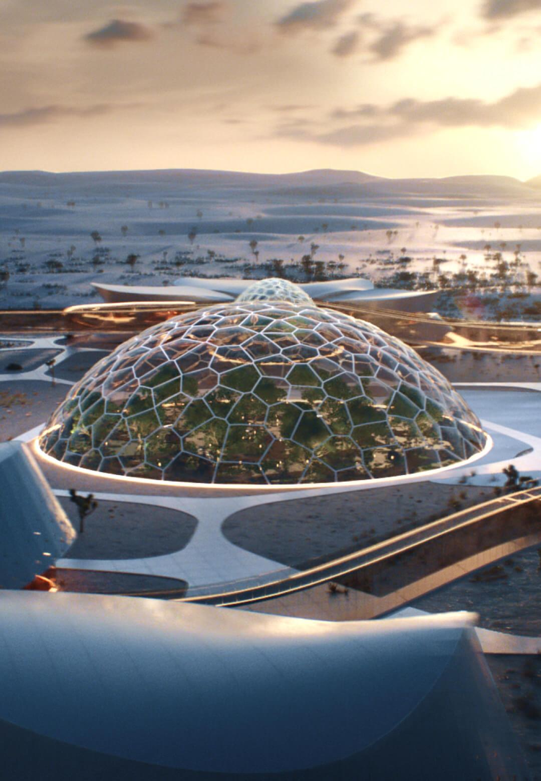 EBIOS: the first self-sufficient and bioregenerative village finds itself in Mojave Desert, California| EBIOS by Interstellar Lab | STIRworld