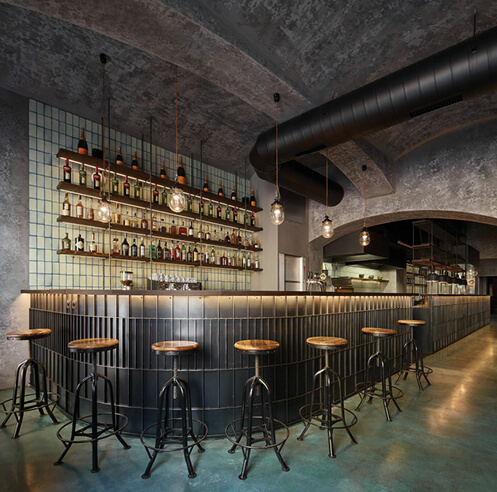 Studio Formafatal redesigns Gran Fierro restaurant in Prague with a 'sustainable soul'
