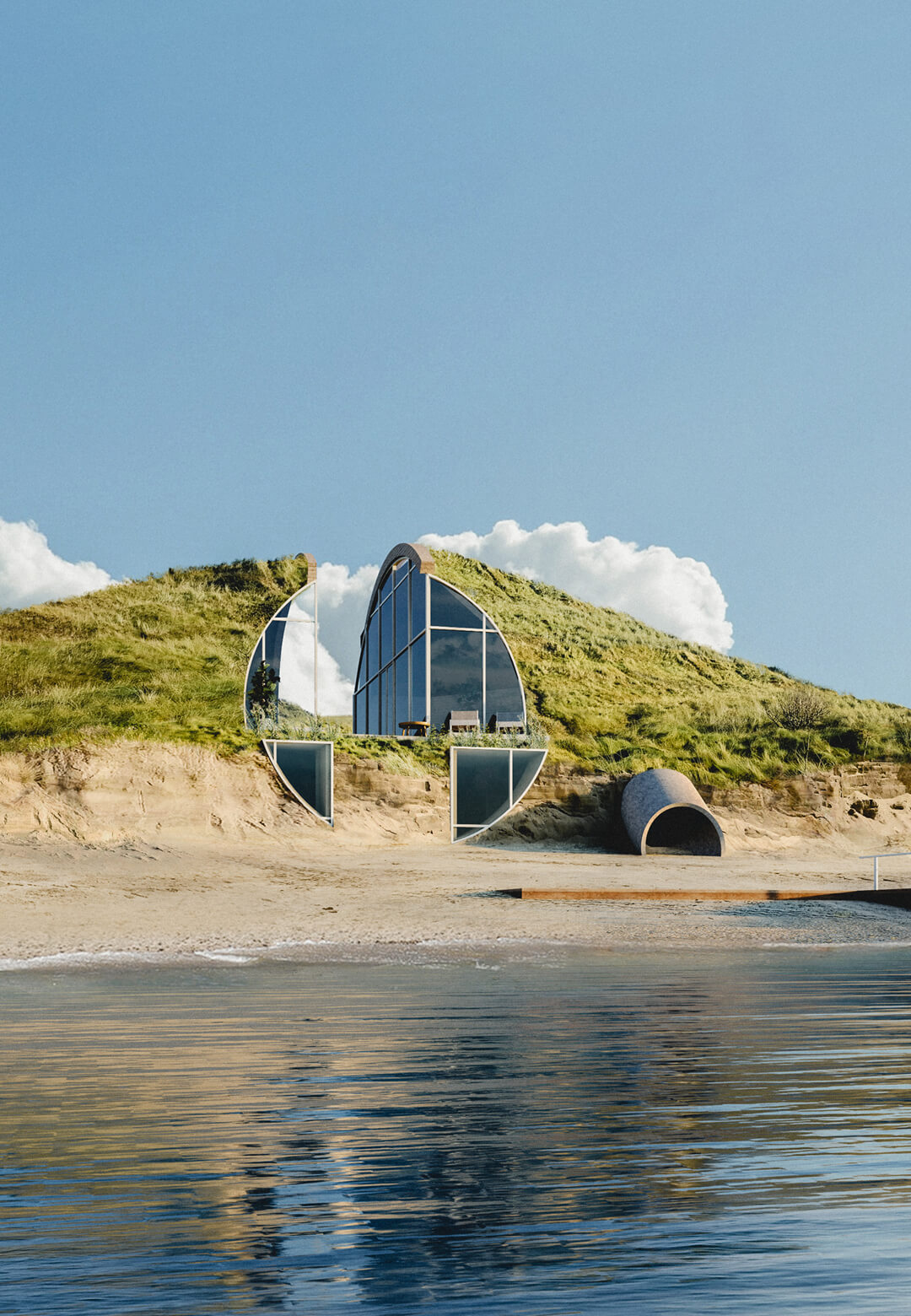 Studio Vural envisions The Dune House in Cape Cod's beachfront in Massachusetts, United States | Dune House by Studio Vural | STIRworld