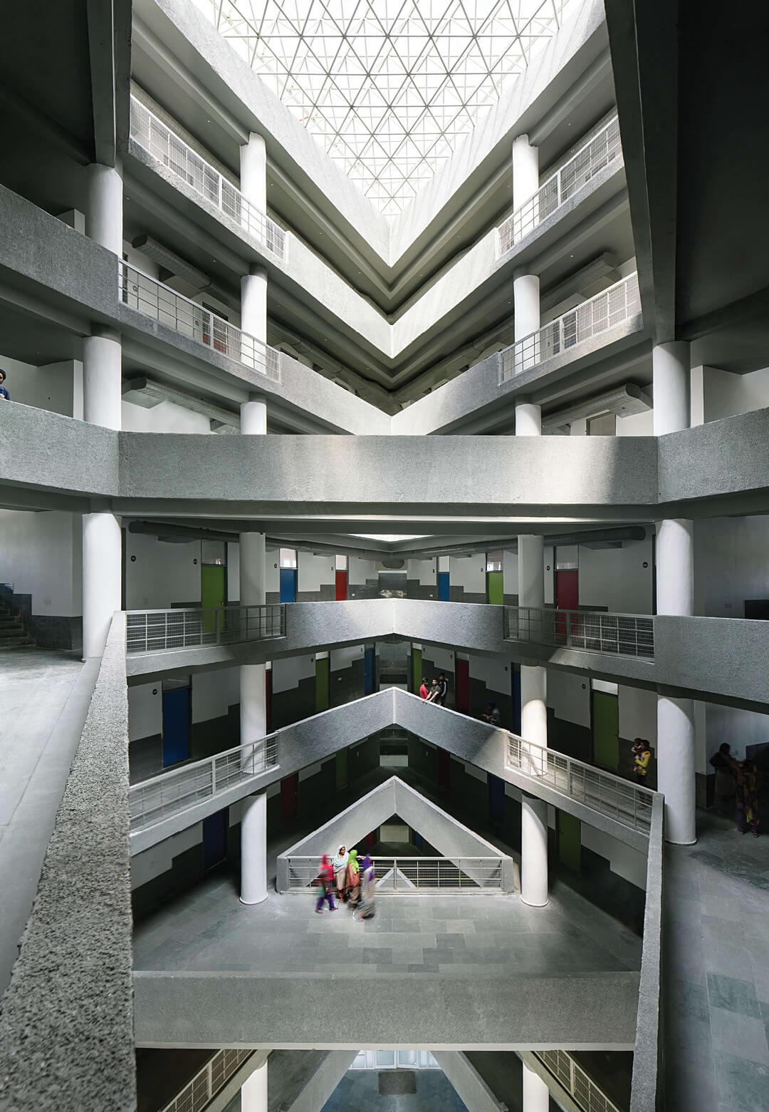 Student Hostel for Chandigarh Group of Colleges | Charged Voids | Chandigarh, India | STIRworld