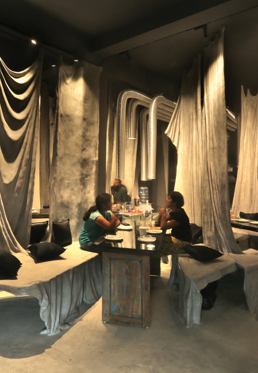 The interiors of Tease Me Cafe by Wallmakers in Kerala | Wallmakers | STIRworld