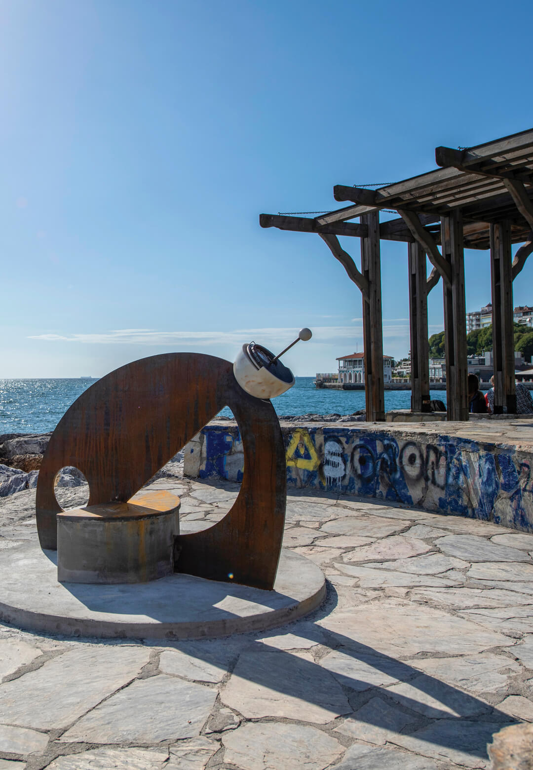 """Eli Bensusan - Sundial of the Blind, at 5th Istanbul Design Biennial 