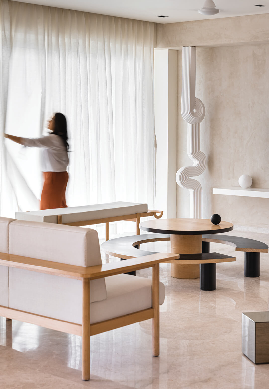 A peek into the Mumbai apartment designed by The Act of Quad studio | The Act of Quad | Mumbai | STIRworld
