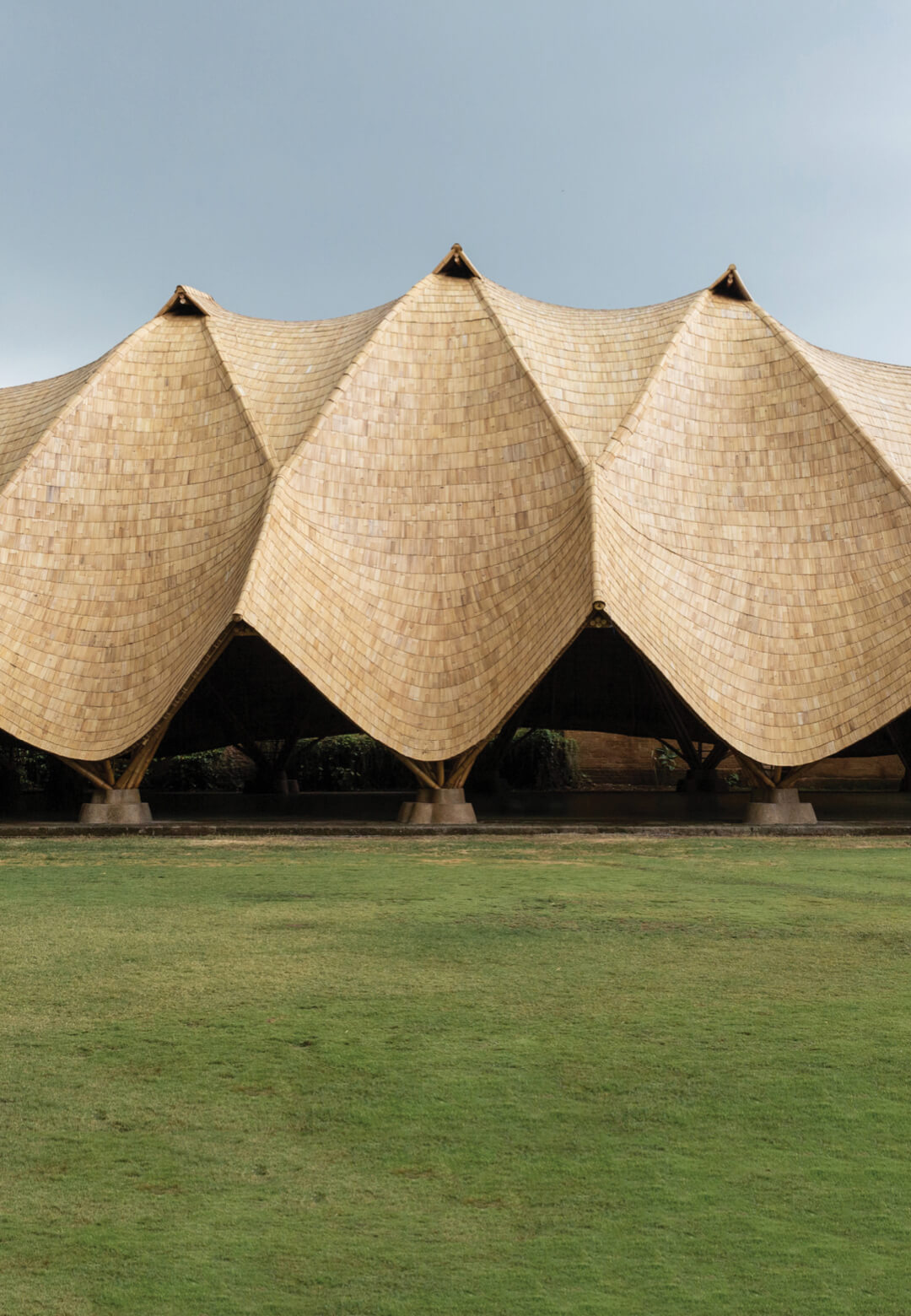 The Arc by IBUKU at the Green School, Bali, adapts the unique design language of the practice and school in bamboo | The Arc at Green School | IBUKU | STIRworld