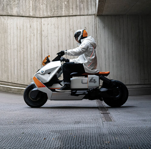 BMW Motorrad Definition CE 04 redefines the scooter segment through design