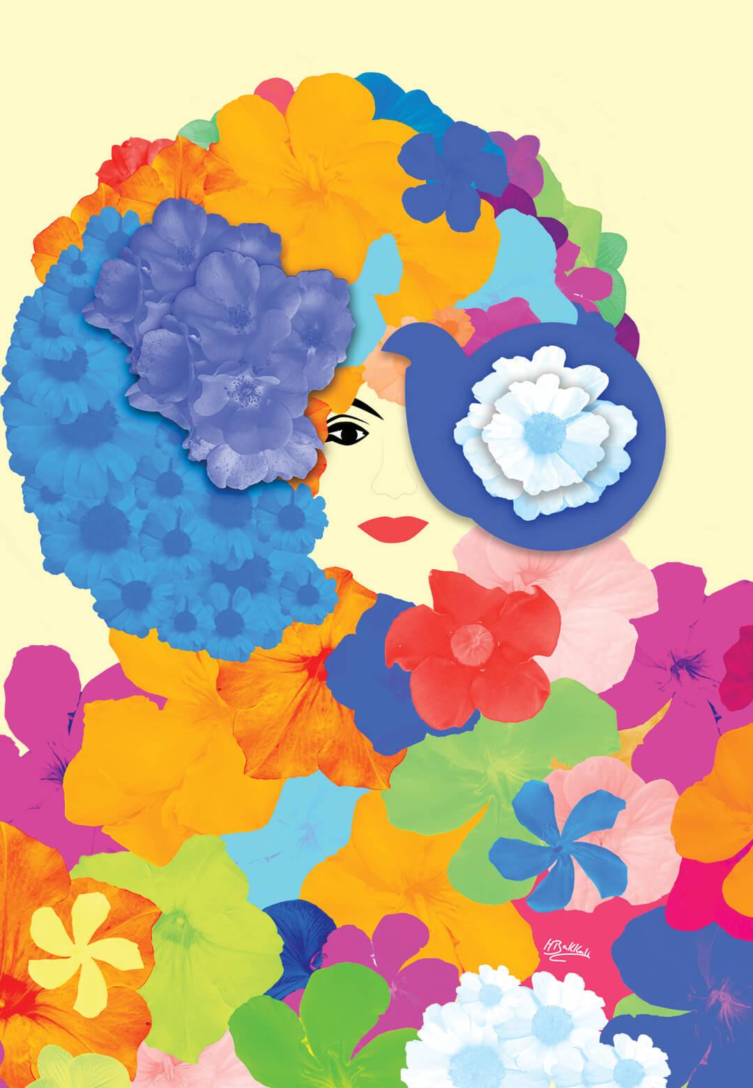 The Flowers of Happiness by Houda Bakkali | STIRworld