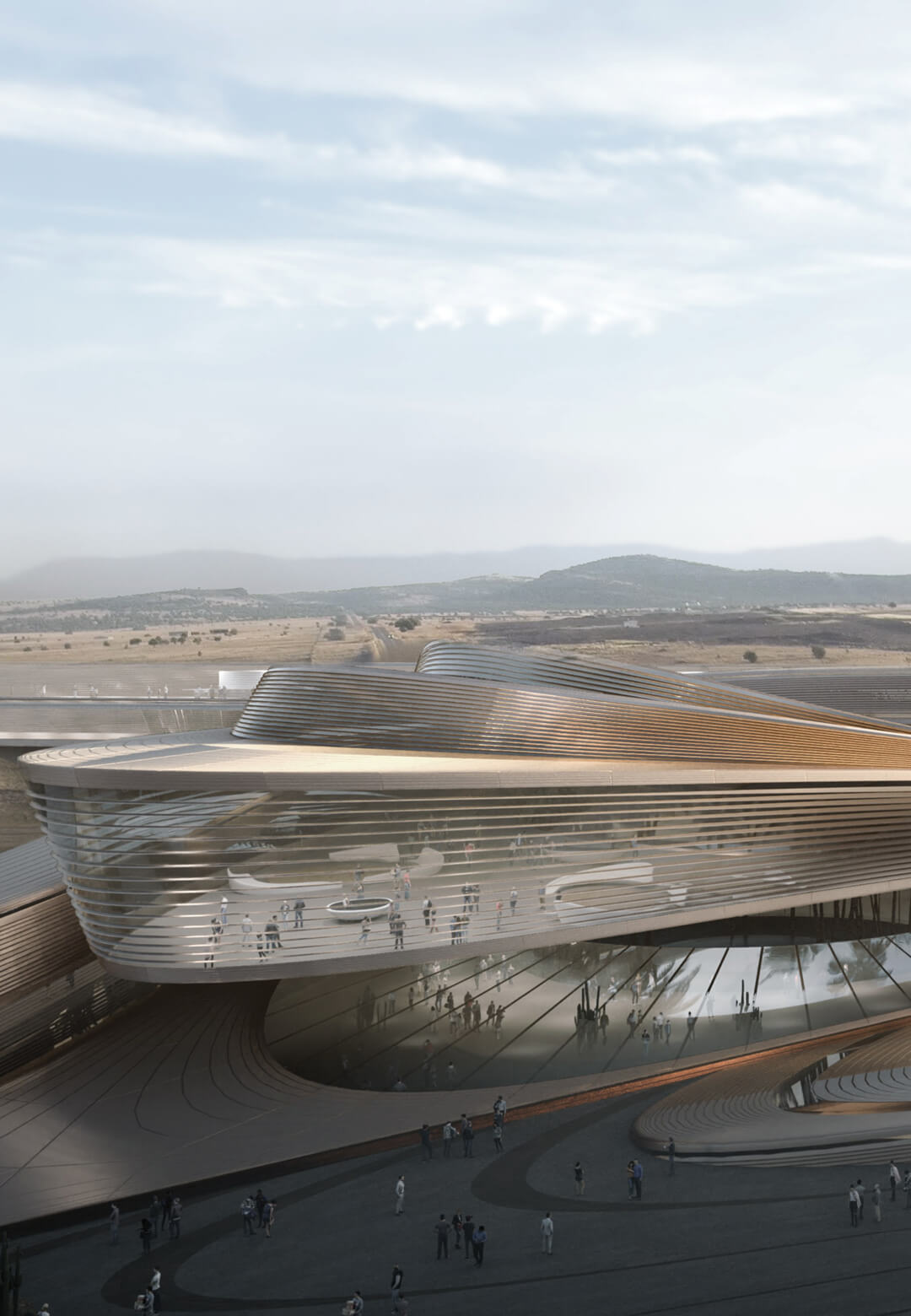 The design for Hyperloop Desert Campus in Nevada by PadaLabs | Hyperloop Desert Campus by PadaLabs | STIRworld