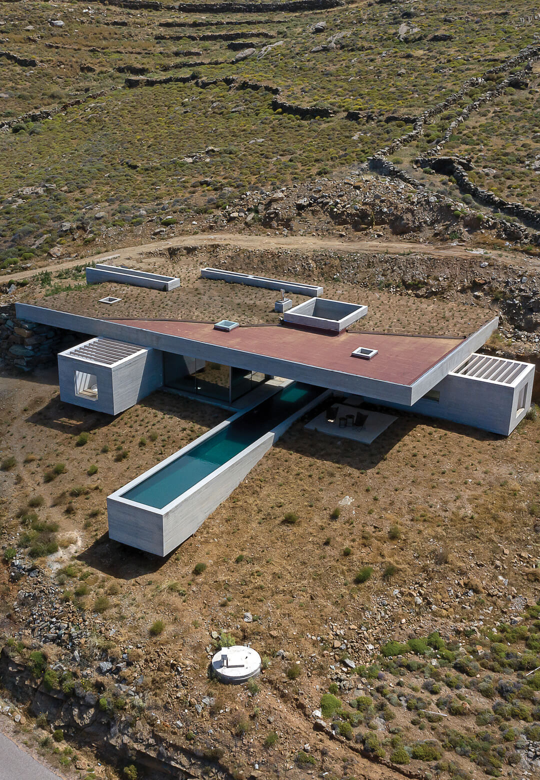 The Lap Pool House by Aristides Dallas Architects | STIRworld