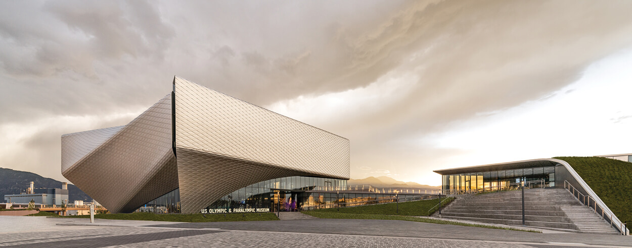 The US Olympic and Paralympic Museum is DS+R's ode to the nation's athletes