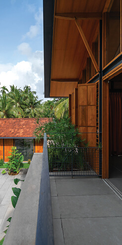 Thought Parallels unites tropical modernism with tradition for Overture house in Kerala