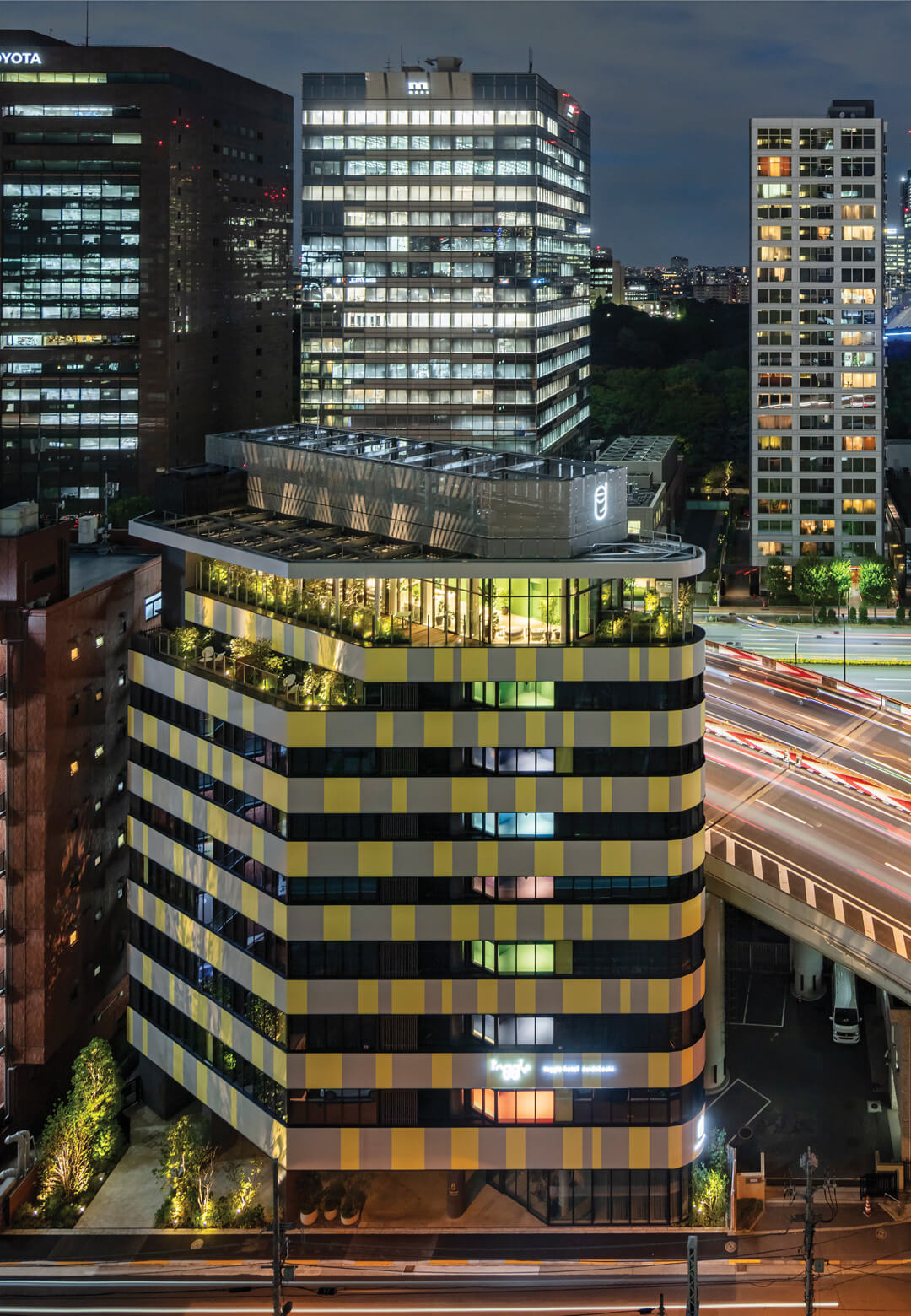 The Toggle Hotel by Klein Dytham Architecture is intended as a colourful, dynamic intervention in the heart of Tokyo | Toggle Hotel | Klein Dytham Architecture | STIRworld