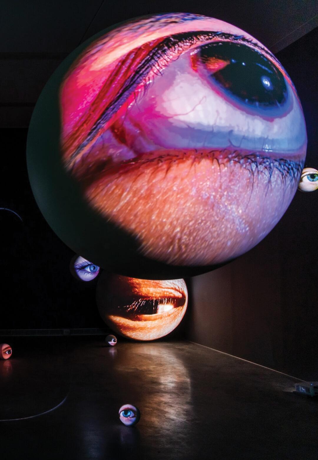 'Black Box' at Kaohsiung Museum, Taiwan | Tony Oursler: Black Box | Tony Oursler | STIRworld