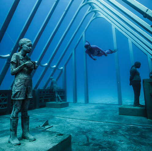 Underwater artist Jason deCaires Taylor on environment and power structures