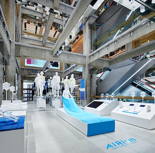 Herzog & de Meuron brings alive a concrete space frame in UNIQLO TOKYO store