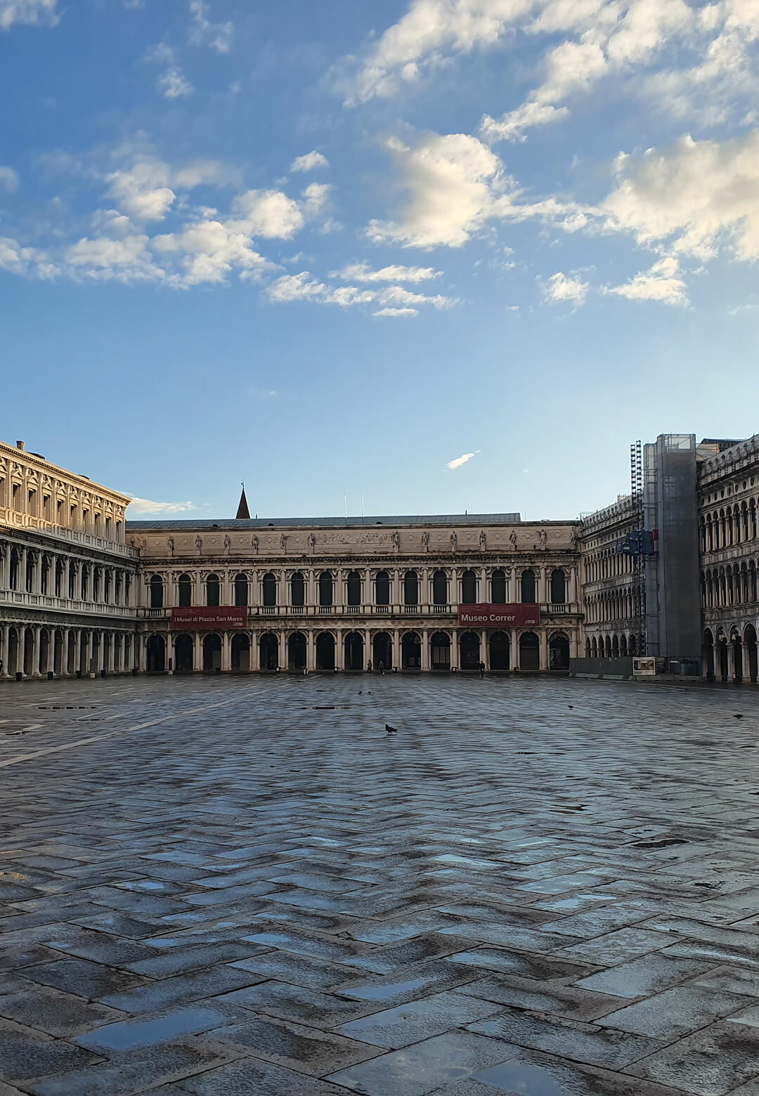 Empty piazza during the Venetian lockdown | Venice reopens post COVID-19 lockdown | STIRworld