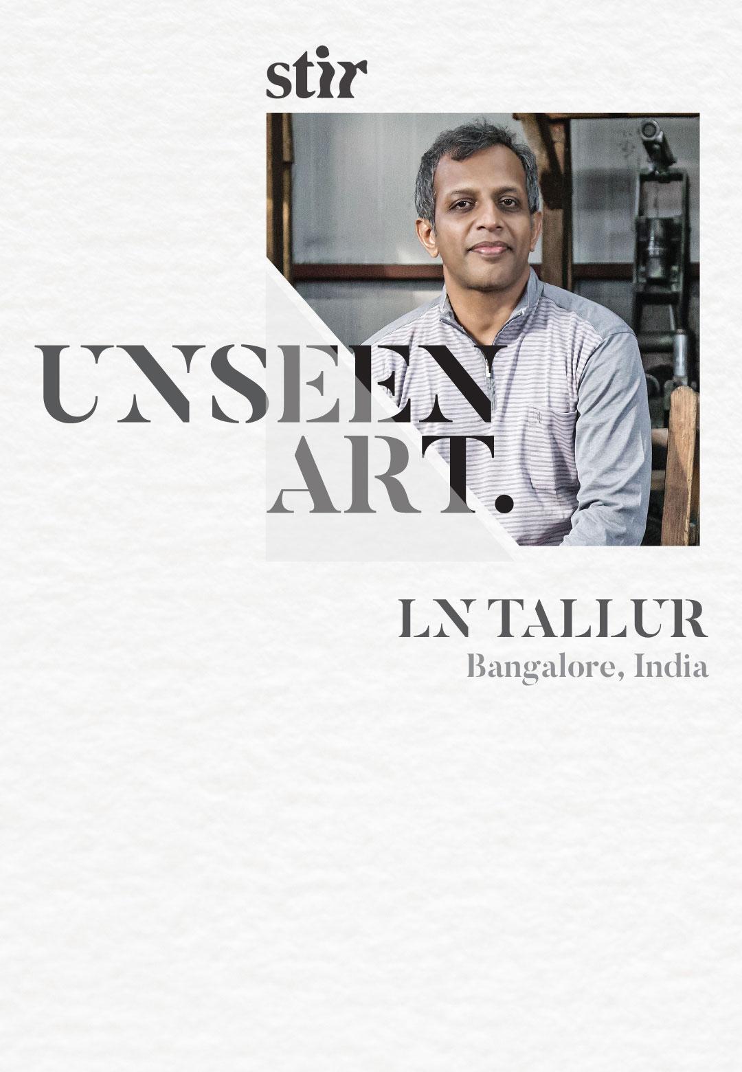 LN Tallur | Time Travel | STIRworld