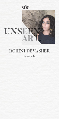 Unseen Art: Why the study of the Sunflower head never left Rohini Devasher's studio