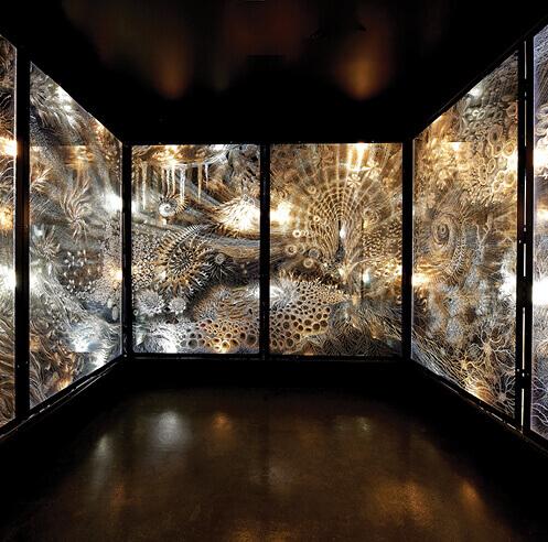 Venezuelan artist Claudia Bueno discusses her installation titled 'Pulse'