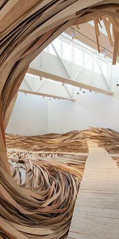 Wade Kavanaugh and Stephen B Nguyen's installations reimagine ways of seeing