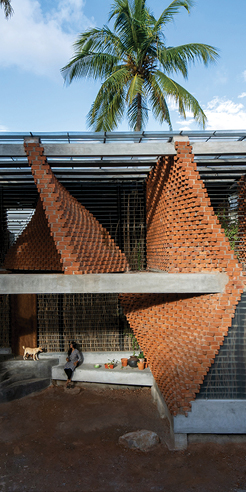 Wallmakers design Pirouette House in Trivandrum as an ode to Laurie Baker