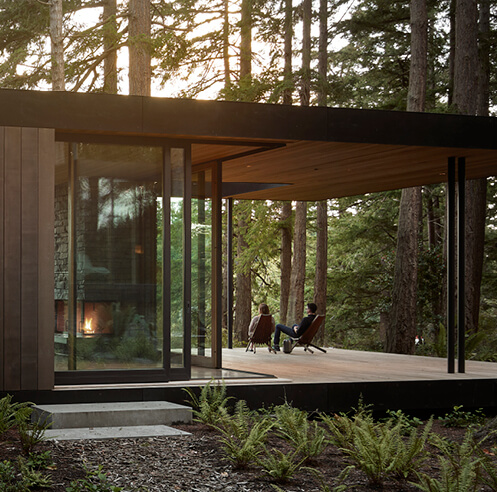 Whidbey Island Farm Retreat by Mwworks honours pastoral landscape in Washington