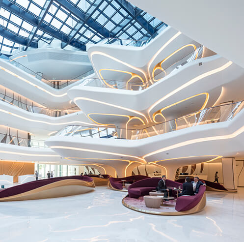 Zaha Hadid-designed ME hotel opens in the Opus building in Downtown Dubai