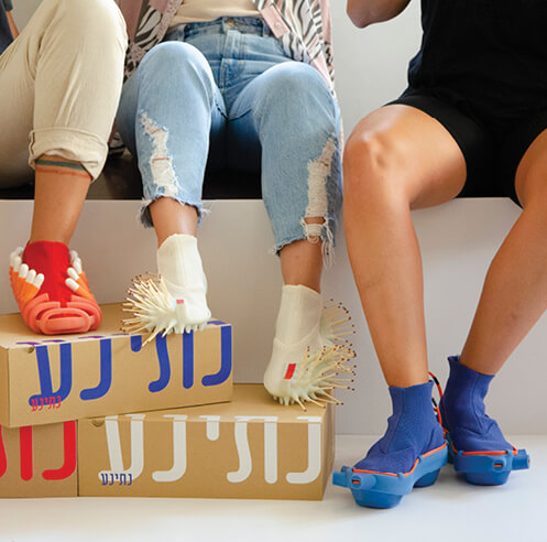 Netha Goldberg creates shoes that enable increased social interaction